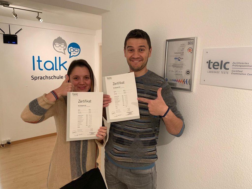 Telc Sprachzertifikate Italk Sprachschule Learning German English